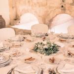 Allestimento tavoli Antico Palmento