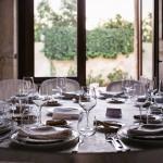 Antico Palmento, dettaglio di tavola allestita